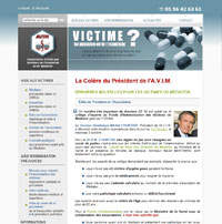 Site de l'association des victimes du Mediator